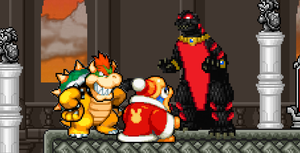 Asylus joined Bowser and Dedede by KingAsylus91