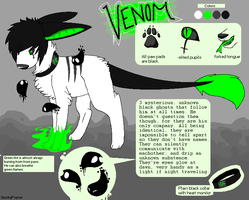Venom Reference Sheet by SpunkyRacoon