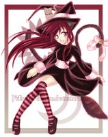 Little Witchy Witch :3 by Fullmetal-Illusion