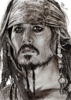 Jack Sparrow portrait by Williaaaaaam