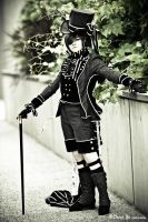 Ciel Phantomhive: Old World by bekalou-cosplay