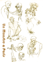 UMAP sketches 2 by Beccawolf16
