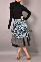 Blue Victorian Pleated Skirt10 by yystudio