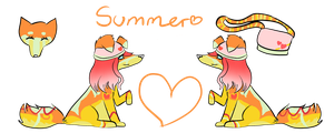 Summer Refrence Sheet by Samooraii