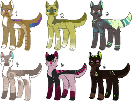 Canine Adopts 2  - Open OTA by KittehzAdopts
