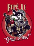 Pepe Le Pew Pew by GBIllustrations