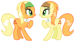Apple Twins 2 by Durpy