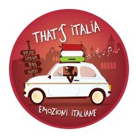 Fiat 500 'n Italian Background by Coolgraphic