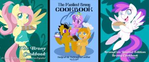 Charity Cookbook Cover Art by LeekFish