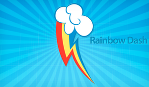 Rainbow Dash CM Wallpaper by alanfernandoflores01