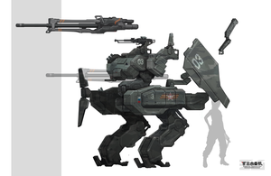 russian mecha by marksanwel