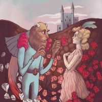 Beauty and the Beast by RayGunNoey