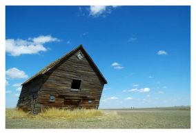 Saskatchewan Barn No. 3 by crazycroat