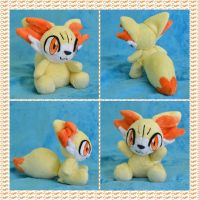 Commission: Fennekin PuzzCutie by CoffeeCupPup