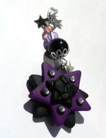 purple mossaik star by Lulana
