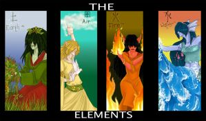 The Elements - redone by french-teapot