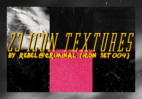23 Icon Textures By Rebel by rebelatlj