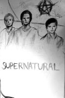 Supernatural Season 6 [comic cover] by svesh95