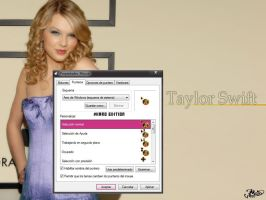 Cursor/Puntero Taylor Swift by karoglez