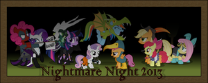 Nightmare Night 2013 by Zacatron94