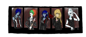 monsterful visual kei style by Ayaa-Yun