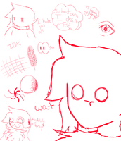 Doodle Page of Doodily Doodles by 0froggydog0