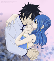 Gray x Juvia #6 by Juviaaa