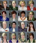 Hetalia Characters in SIMS 3 by natersal