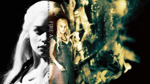 Fire and Blood by Super-Fan-Wallpapers