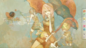 Vocaloid: Luka, Miku, Rin and Len by rosetippedpen