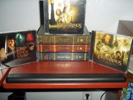 LotR DvDs and Soundtracks by Eye-of-Kaiba