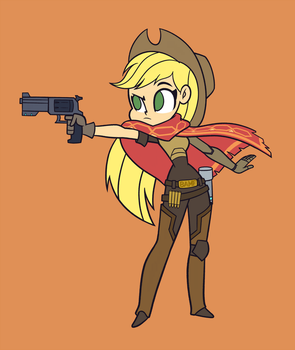 Poni-watch - Apple McCree by Khuzang