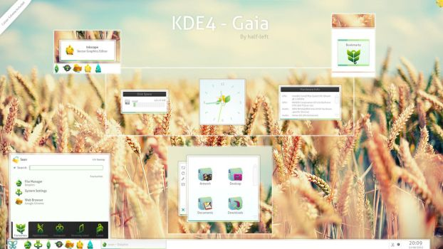 KDE4 - Gaia by half-left
