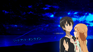 Sword Art Online - Kirito x Asuna by Akw-Art-Design