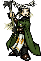 Warden Brighde Again by WhoDrewThis