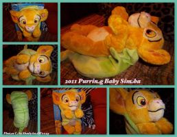 2011 Purring Baby Simba by DoloAndElectrik