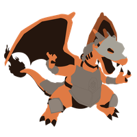 Armored Charizard - Sunset Shores by Kevandre