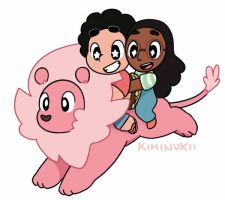 Chibi Steven and friends! by Kiminukii