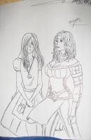 Bethany and Alice by Grim-Heaper