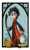 Harry Potter by kissyushka