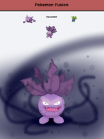 Hauntish (pokemon fusion) by MagikBanana