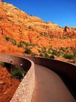 Red Mountain Pathways by heelontheshovel
