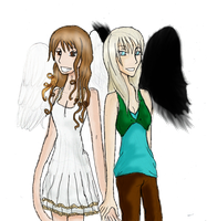 Wing's sister by Skeya