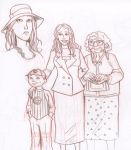 Kate and family by KyleIAM