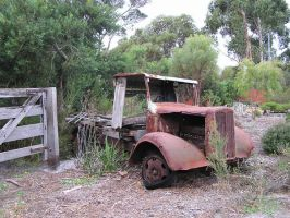 Old Rusty Truck 4 by stock-kitty