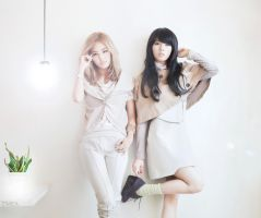 Gayoon and Hyunah - 4minute by Zimea