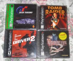 Borrowing these PS1 games - Part 2 by T95Master