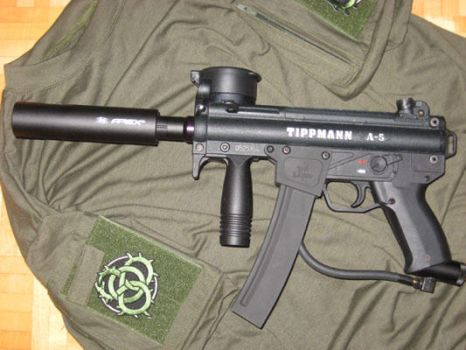 MP5K paintball marker by Seredus