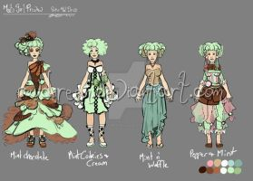 Minty Girl:  Special Dress by AudreyGreenhalgh