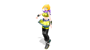[MMD] TDA Kagamine Rin [Mature + Wave] by Ooma-p
